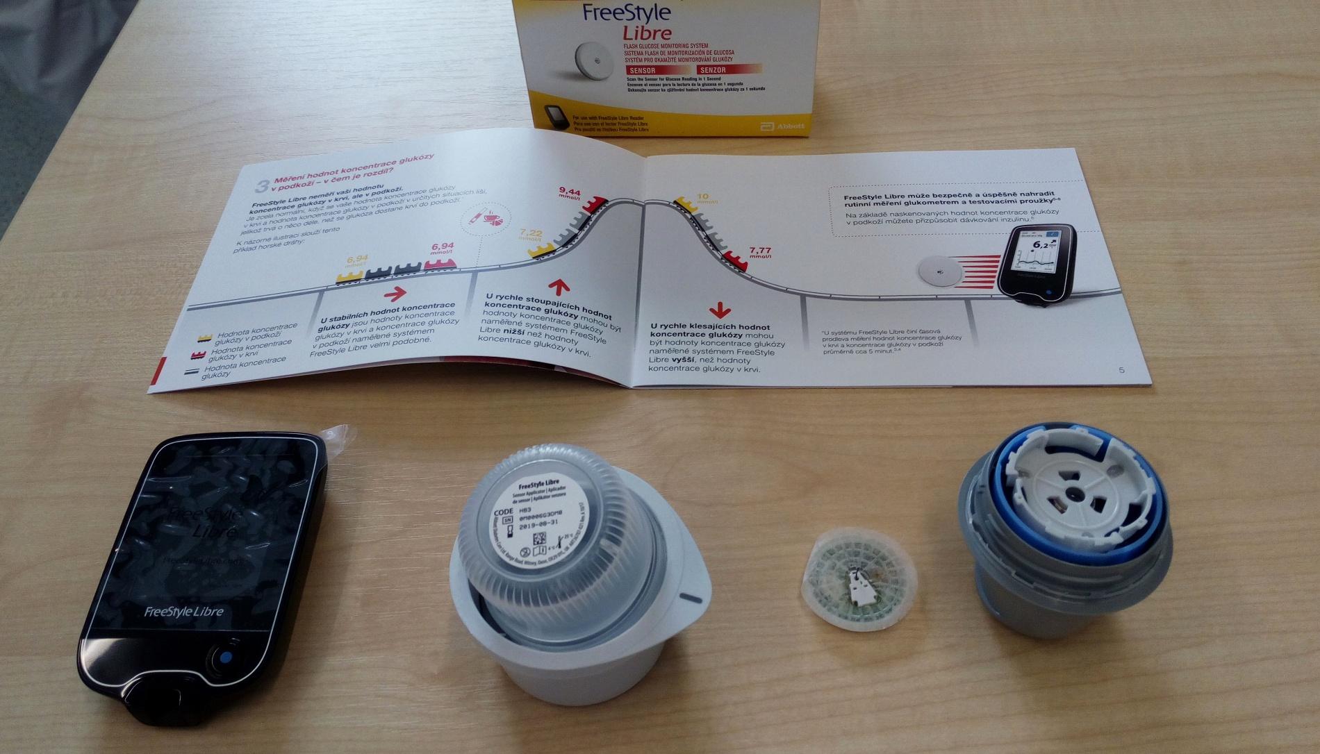 Měření glykémi bezbolestně
