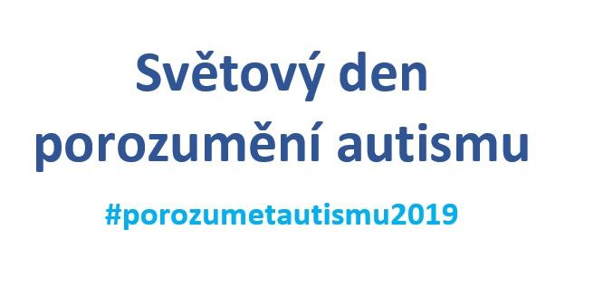 Světový den porozumění autismu – taky jsme se zapojili!