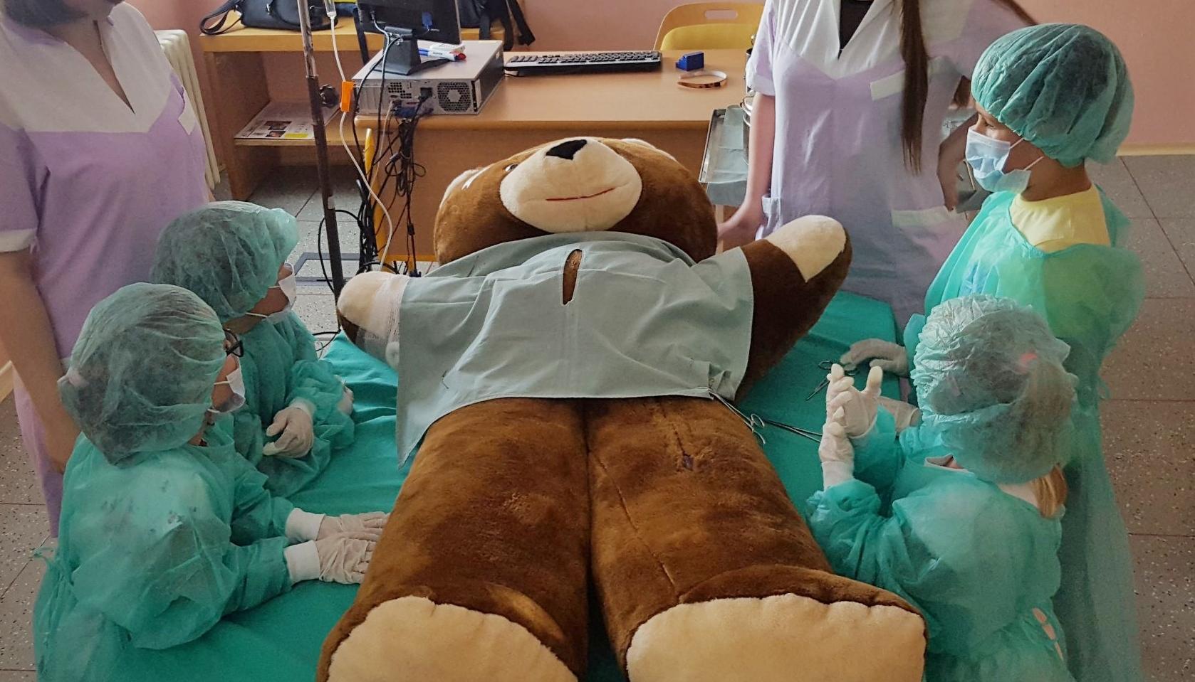 Malí chirurgové opět v akci