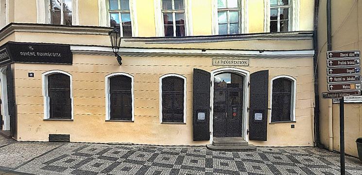 Kuchařská zkušenost v michelinské restauraci v Praze