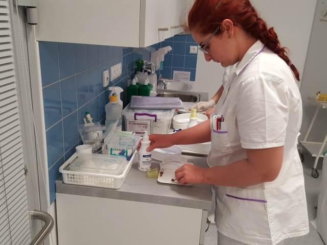 Praktické maturity v nemocnici vrcholí!
