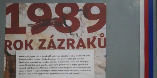Výstava k výročí sametové revoluce