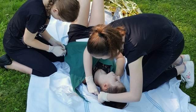 Soutěž druháků v poskytování první pomoci
