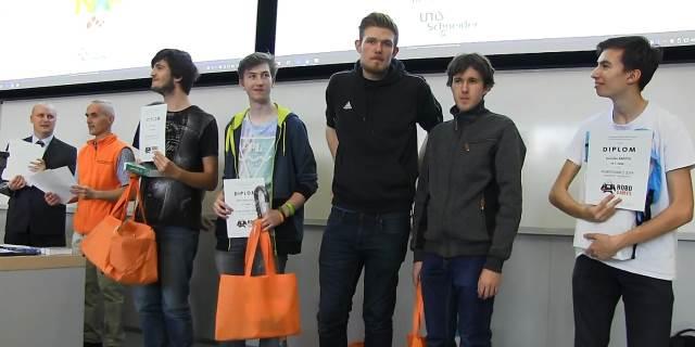 Úspěchy na soutěži ROBOGAMES